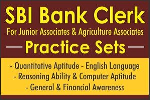 SBI Clerk Practice Set