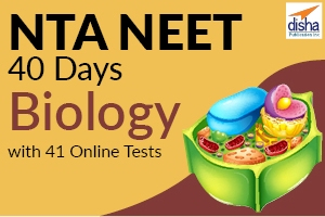 NTA NEET 40 Days Biology with 41 Online Tests