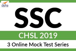 3 Online Mock Test Series - SSC CHSL 2019