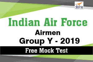 Free Mock Test  Indian Air Force Airmen Group Y