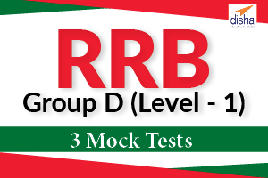3 Mock Tests for RRB Group-D -Level-1