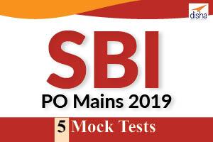 5 Mock Tests - SBI PO Mains - 2019