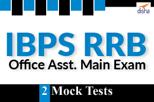 2 Mock Tests - IBPS RRB Office Asst Main Exam