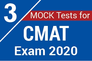 3 Mock Tests For CMAT Exam 2020