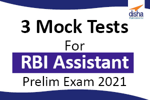 3 Mock Tests For RBI Assistant Exam 2021