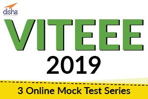 VITEEE 2019 - 3 Online Mock Tests Series