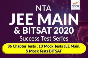 NTA JEE MAIN and BITSAT 2020 - Success Test Series