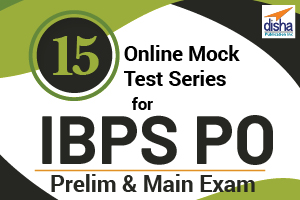 15 Online Mock Test Series for IBPS PO Prelim and Main Exams