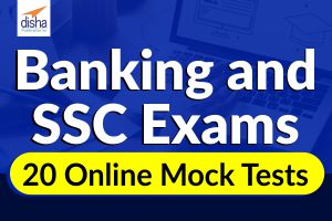 Banking and SSC Exams 20 Online Mock Tests
