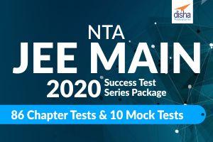 NTA JEE MAIN 2020-Success Test Series Package