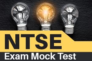 NTSE Exam Mock Test