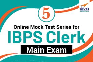 5 Online Mock Test Series for IBPS Clerk Main Exam