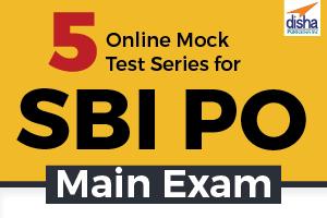 5 Online Mock Test Series for SBI PO Main Exam