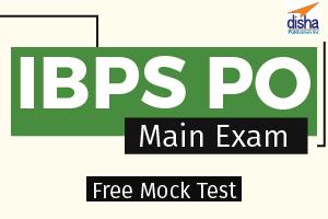Free Mock Test IBPS PO Main Exam