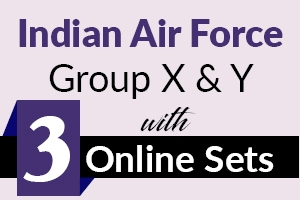 IAF Airman Group X and Y - 3 Mock Tests Series