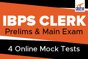 IBPS Bank Clerk  Pre and Main 4 Mock Test